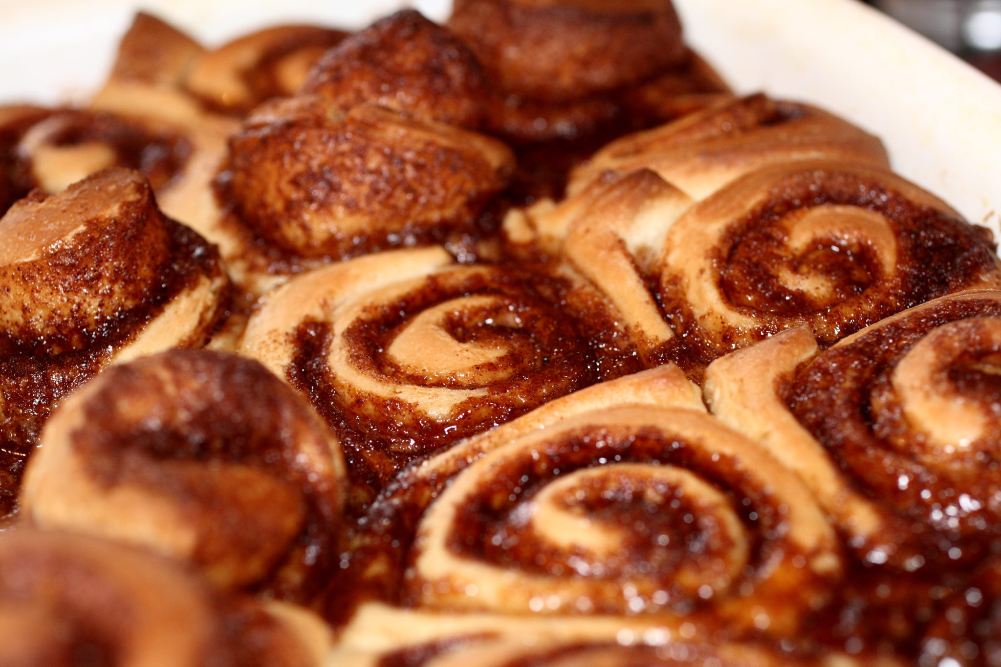 Sticky cinnamon rolls recipe