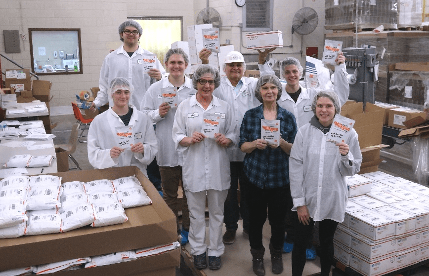 Milkman Milk team at Marron Foods, WI